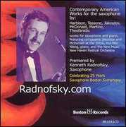 Radnofsky.com: Contemporary American Works for the Saxophone (CD) at Kmart.com