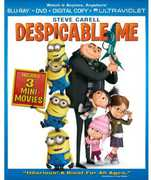 Despicable Me (Blu-Ray + DVD + Digital Copy + UltraViolet) at Kmart.com
