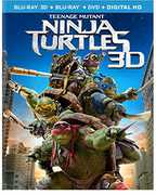 Teenage Mutant Ninja Turtles (2014) (3PC) , Megan Fox
