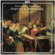 Hieronymus Praetorius: Vespers for St. Michael's Day (CD) at Kmart.com