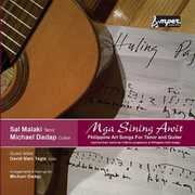 Mga Sining Awit Philippine Art Songs for Tenor & G (CD) at Sears.com