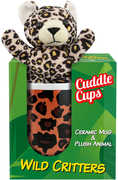 Wild Critters Cuddle Cup: Leopard