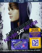 JUSTIN BIEBER: NEVER SAY NEVER (Blu-Ray + DVD + Digital Copy) at Kmart.com