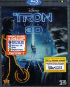 Tron: Legacy 3D (3-D BluRay + DVD) at Kmart.com