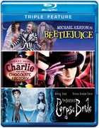 Beetlejuice / Charlie & Chocolate Factory / Tim (Blu-Ray) at Kmart.com