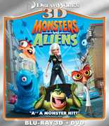 Monsters vs. Aliens 3D (3-D BluRay + DVD) at Kmart.com