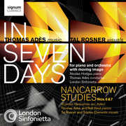 Thomas Ad?s: In Seven Days; Nancarrow Studies Nos. 6 & 7 (CD + DVD) at Kmart.com