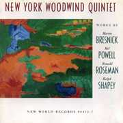 New York Woodwind Quintet Plays Bresnick, Powell, Roseman, Shapey (CD) at Kmart.com
