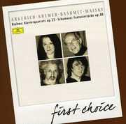 Brahms: Klavierquartett Op. 25; Schumann: Fantasiest?cke, Op. 88 (CD) at Sears.com