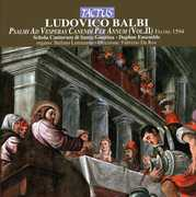 Ludovico Balbi: Psalm ad Vesperas Canendi per Annum, Vol. 2 (CD) at Sears.com