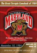 University of Maryland: The Great Terrapin Comeback of 1984 - Maryland vs. Miami (DVD) at Kmart.com