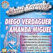 Karaoke: Diego Verdaguer y Amanda Miguel - Exitos , Diego Verdaguer Y Amanda Miguel