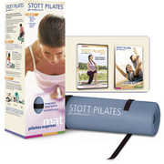 Pilates Express Mat DVD Pack: Blue Mat
