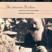 Intimate Brahms: 19 Short Piano Works (CD) at Kmart.com