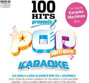 Karaoke: 100 Hits Presents Pop Anthems /  Various (5PC) [Import] , Various Artists
