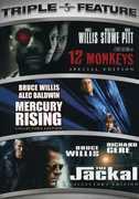12 Monkeys & Mercury Rising & Jackal (DVD) at Sears.com