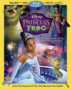 Princess and the Frog (Blu-Ray + DVD + Digital Copy) at Kmart.com