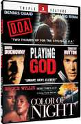 D.O.A./Playing God/Color of Night (DVD) at Kmart.com