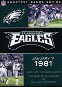 PHILADELPHIA EAGLES 1980 NFC CHAMPIONSHIP GAME (DVD) at Kmart.com