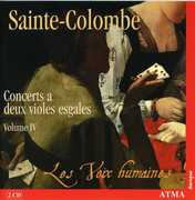 Sainte-Colombe: Concerts a deux violes esgales, Vol. 4 (CD) at Kmart.com