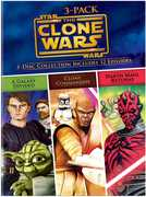 Star Wars the Clone Wars Volumes 3-Pack (DVD) at Kmart.com