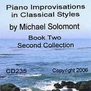 Piano Improvisations in Classical Styles by Michael Solomont - Book Two - Second Collection (CD) at Sears.com