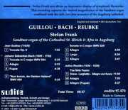 Stefan Frank plays Guillou, Reubke, Bach (CD) at Kmart.com