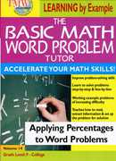 Basic Math Word Problem Tutor: Applying Percentages to Word Problems (DVD) at Kmart.com