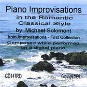 Piano Improvisations in the Romantic Classical Style (CD) at Sears.com