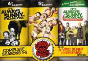 It's Always Sunny in Philadelphia: Complete Seasons 1-5 Plus A Very Sunny Christmas Special (DVD) at Sears.com