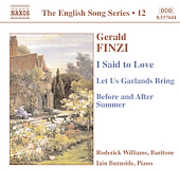 Gerald Finzi: I Said to Love; Let Us Garlands Bring; Before and After Summer (CD) at Sears.com