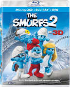 Smurfs 2 in 3D (3-D BluRay + DVD + UltraViolet) at Kmart.com