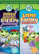 LeapFrog: Math Adventure to the Moon/Letter Factory (DVD) at Sears.com