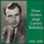 Hans Hotter singt Loewe Balladen (CD) at Sears.com