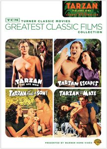 TCM Greatest Classic Films Collection: Johnny Weissmuller As Tarzan 1 , Johnny Weissmuller