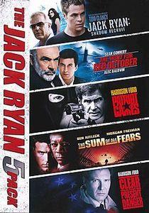 Jack Ryan Movie 5-Pack , Chris Pine