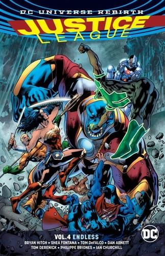 Justice League Vol 4 - Bryan Hitch (2017, Livre NEU)