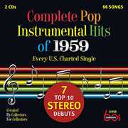Complete Pop Instrumental Hits Of 1959 /  Var , Various Artist
