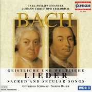 C. P. E. Bach & J. Ch. F. Bach: Sacred and Secular Songs (CD) at Sears.com