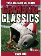 CRIMSON CLASSICS: 1993 ALABAMA VS MIAMI (DVD) at Kmart.com