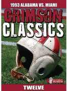 CRIMSON CLASSICS: 1993 ALABAMA VS MIAMI (DVD) at Kmart.com
