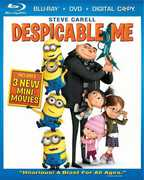 Despicable Me (Blu-Ray + DVD + Digital Copy) at Sears.com