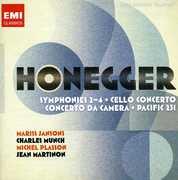 Honegger: Symphonies Nos. 2-4; Cello Concerto; Concerto da Camera & Others (CD) at Sears.com