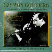 Szymon Goldberg Centenary (Edition), Vol. 1: Non-Commercial Recordings (CD) at Kmart.com