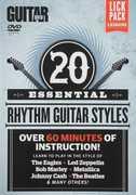 Guitar World: 20 Essential Rhythm Guitar Styles (DVD) at Sears.com