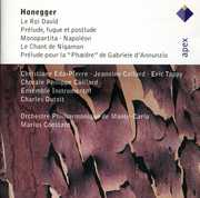 Arthur Honegger: Le Roi David; Pr?lude, fugue et postlude; Monopartita; Napol?on; Le Chant de Nigamon; Pr?lude pour l (CD) at Kmart.com