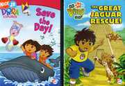 Dora the Explorer: Saves the Day!/The Great Jaguar Rescue (DVD) at Sears.com