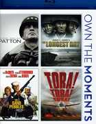 Patton/The Longest Day/The Sand Pebbles/Tora! Tora! Tora! (Blu-Ray) at Kmart.com