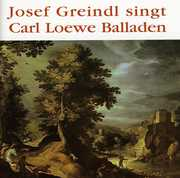 Josef Greindl Singt Carl Loewe Balladen (CD) at Sears.com