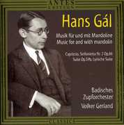Hans G?l: Music f?r und mit Mandoline - Capricio, Sinfonietta No. 2; Suite; Lyrische Suite (CD) at Sears.com